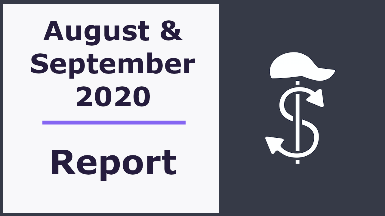 Monatliches Reporting - August & September 2020