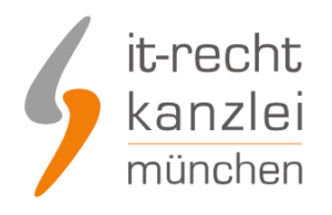 IT-Recht Kanzlei Logo